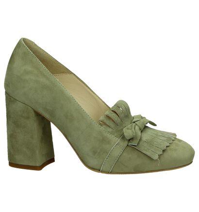 Louisa Escarpins classique  (Vert kaki), Vert, pdp