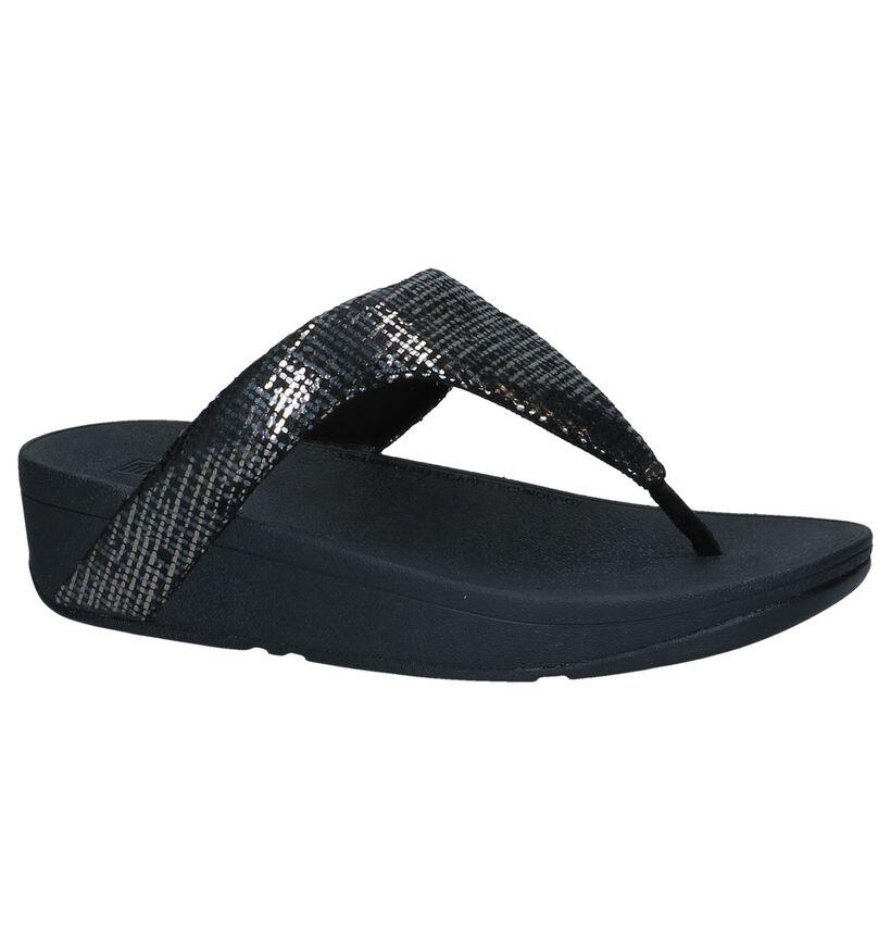 FitFlop Nu-pieds à talons en Noir en daim (240989)