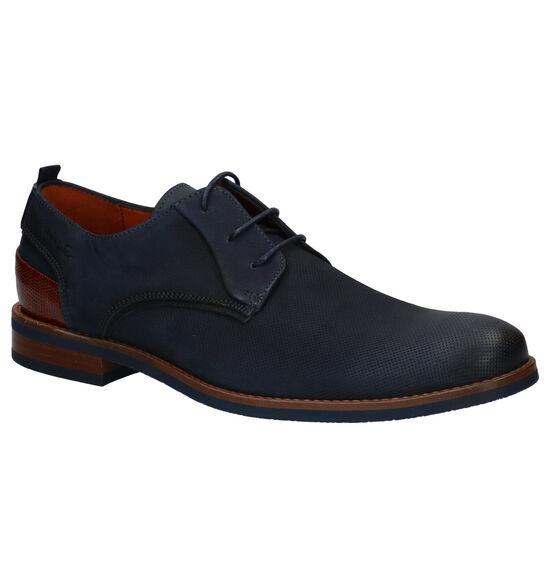 Van Lier Chaussures habillées en Bleu foncé