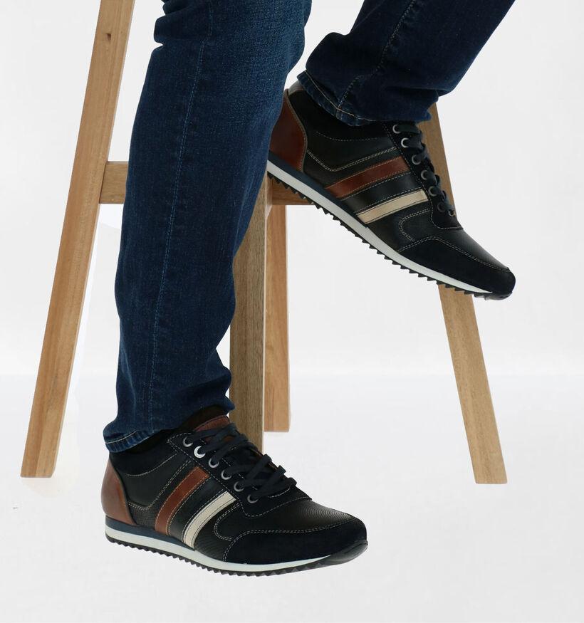 Australian Cornwall Chaussures à lacets en Cognac en cuir (282658)