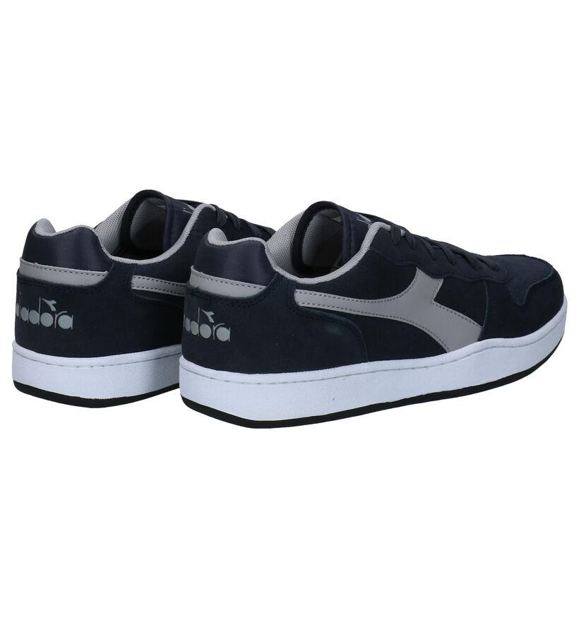 Diadora Playground Blauwe Sneakers in nubuck (277673)