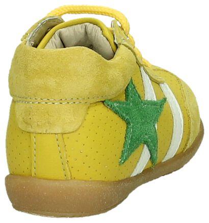 Bumba Chaussures hautes en Jaune en cuir (194973)