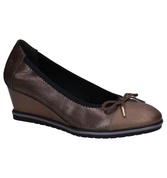 Tamaris TOUCH it Bronzen Pumps
