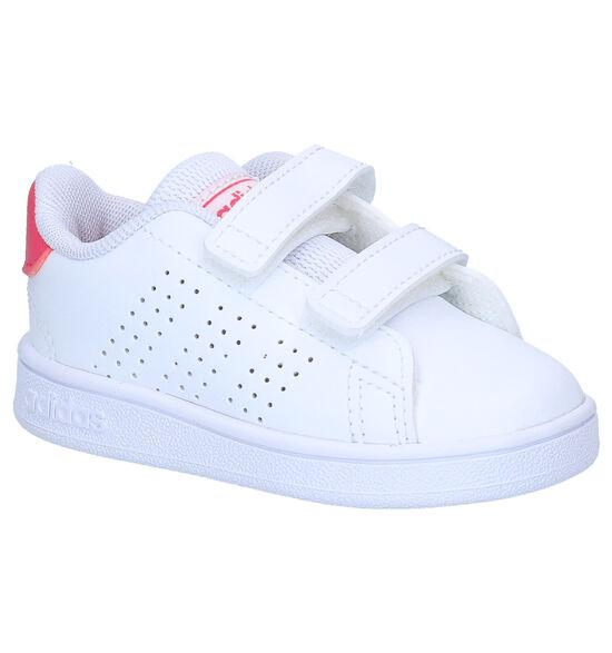 adidas Advantage I Chaussures pour bébé en Blanc