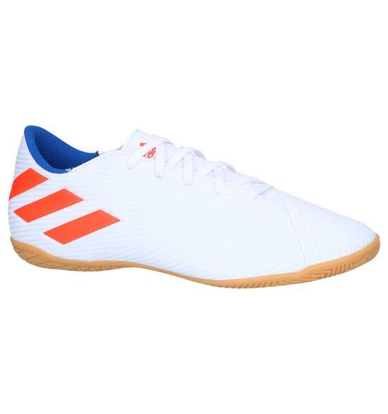 Witte Zaalvoetbalschoenen adidas Nemeziz Messi