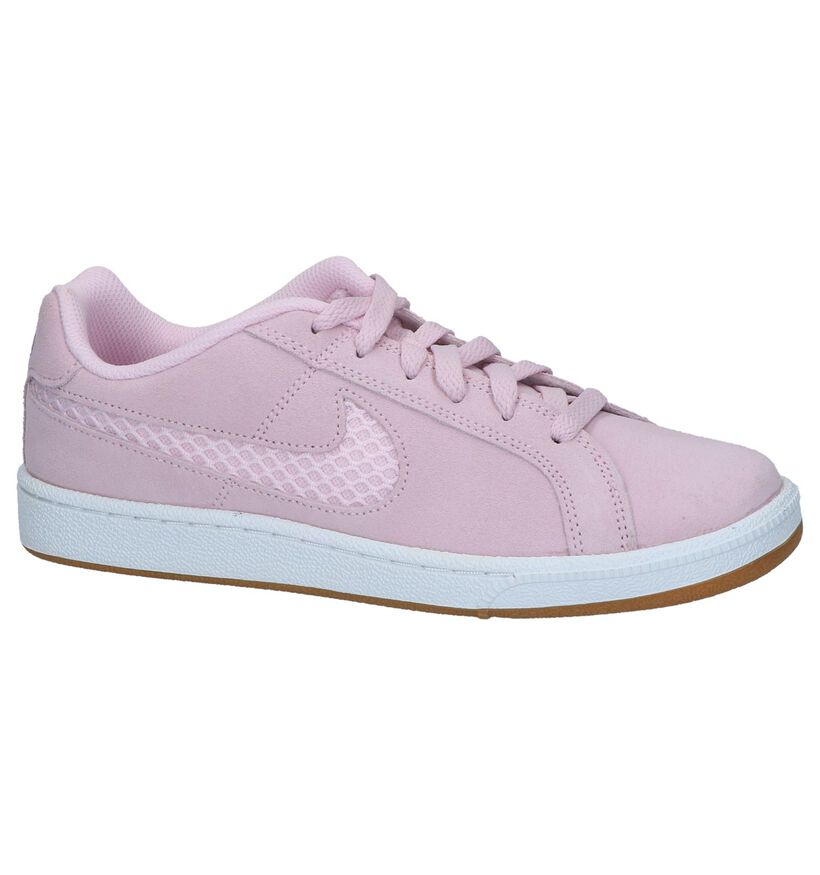 Roze Sneakers Nike Court Royale in daim (237838)
