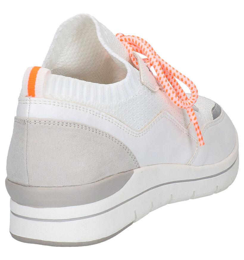 Marco Tozzi Witte Sneakers in kunstleer (270645)