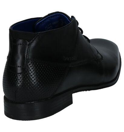 Bugatti Chaussures habillées en Noir en cuir (255351)