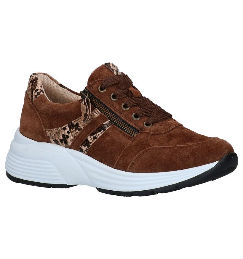 Remonte Chaussures à lacets en Marron en daim (277635)