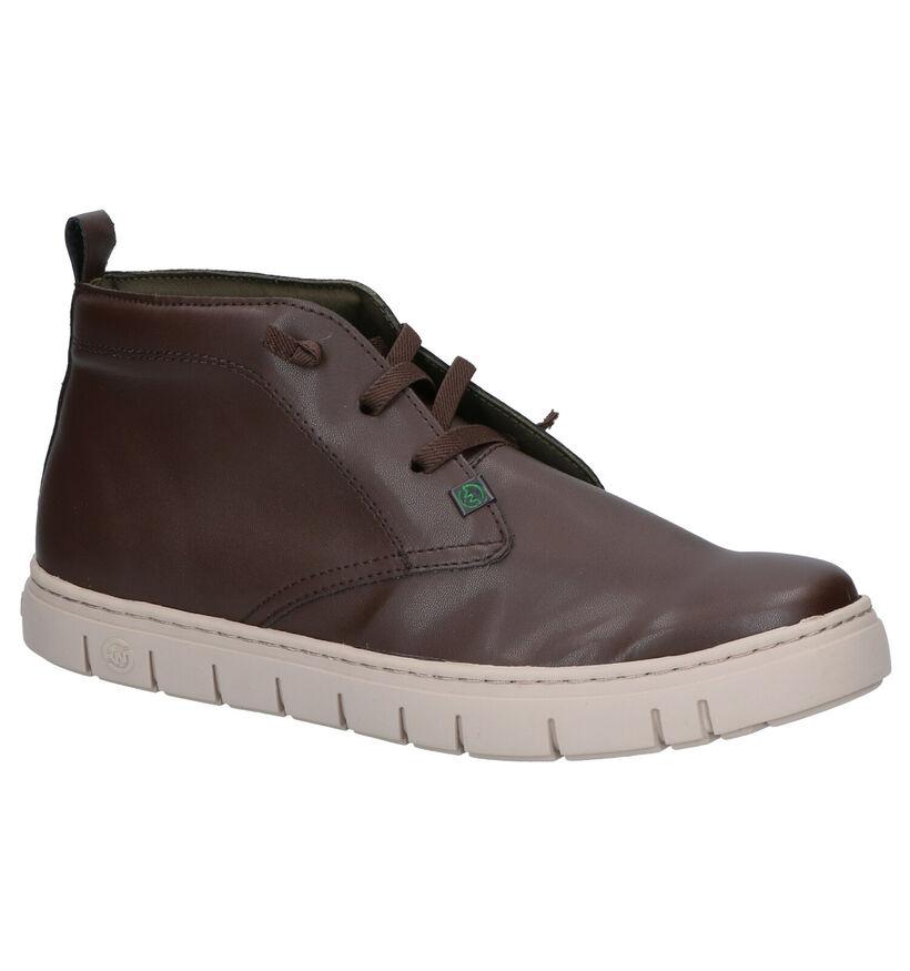 Slowwalk Lucian Chaussures sans lacets en Brun en simili cuir (258744)