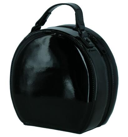Valentino Handbags Tamburo Sac porté croisé en Noir en imitation cuir (259247)