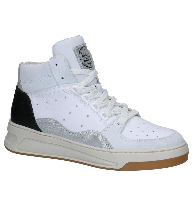 Bullboxer Witte Sneakers in leer (266091)