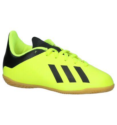 adidas X Tango Fluo Gele Sportschoenen in kunstleer (221653)