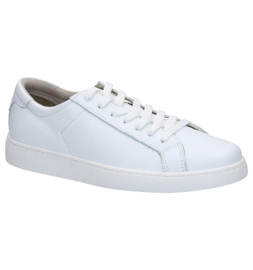 Tamaris Chaussures à lacets en Blanc en cuir (269806)
