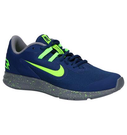 Nike Downshifter Blauwe Sneakers in stof (254107)
