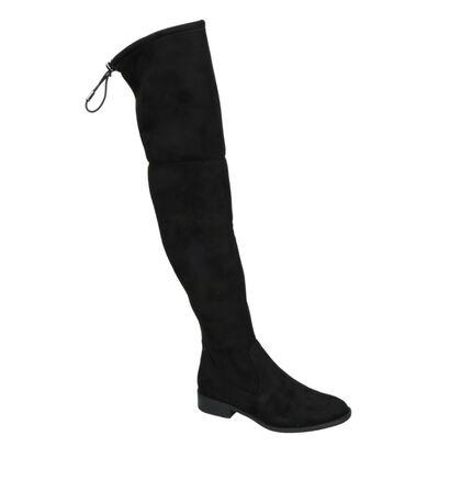 Youh! Bottes en Noir en textile (255755)