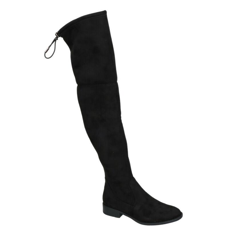 Youh! Zwarte Laarzen in stof (255755)