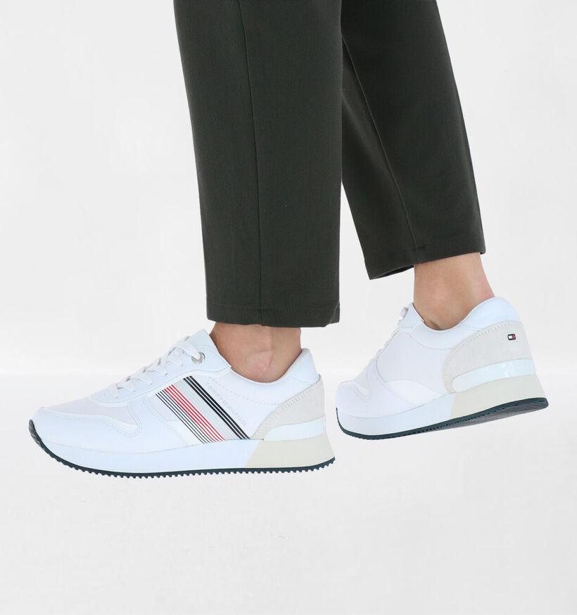 Tommy Hilfiger Witte Sneakers in kunstleer (276248)