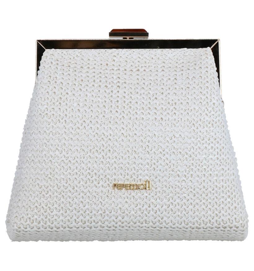 Pepe Moll Pochette en Blanc en textile (274729)