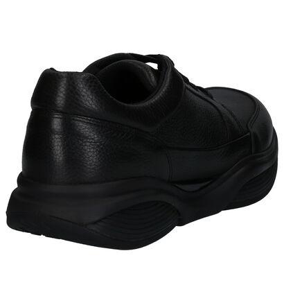 Xsensible Zwarte Casual Schoenen in leer (259684)