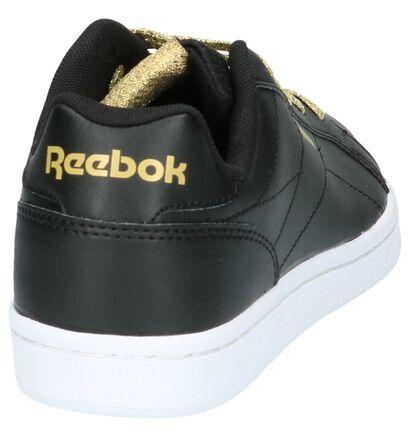 Zwarte Reebok Royal Complete Lage Sneaker in imitatieleer (199540)