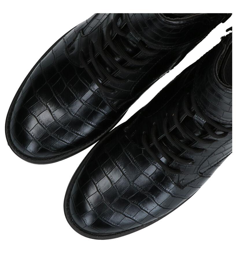 Superstar Bottines en Noir en simili cuir (291822)