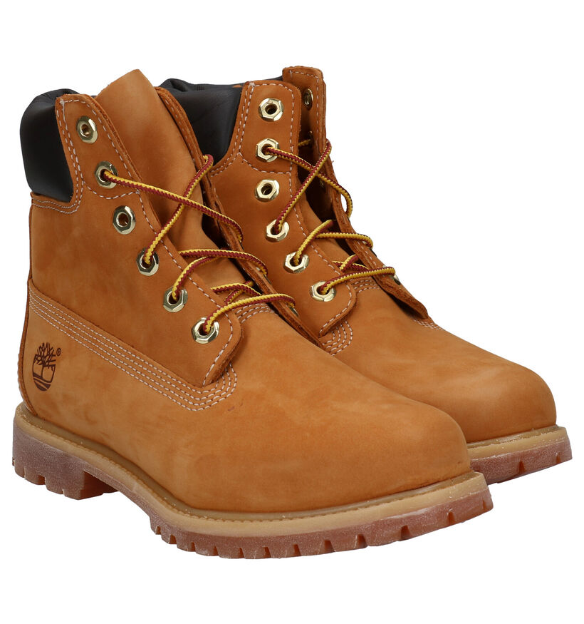 Timberland 6 Inch Premium Bordeaux Boots in nubuck (255339)