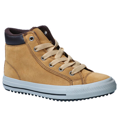 Converse Chuck Taylor All Star PC Grijze Sneakers in daim (252741)