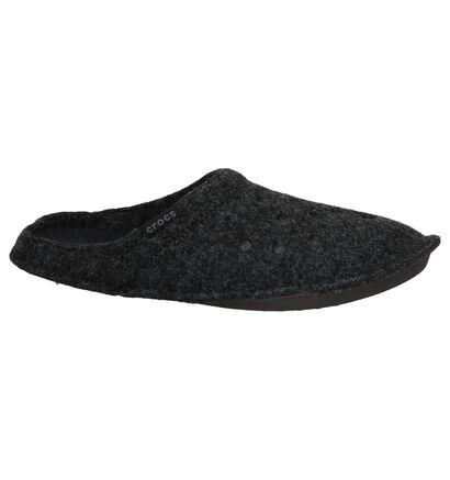 Crocs Classic Pantoufles ouvertes en Brun en textile (227129)