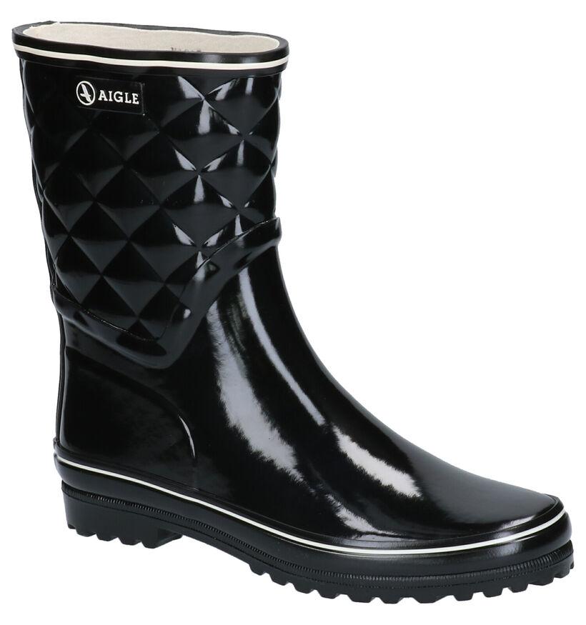 Aigle Venise Regenlaarzen Zwart in rubber (263402)