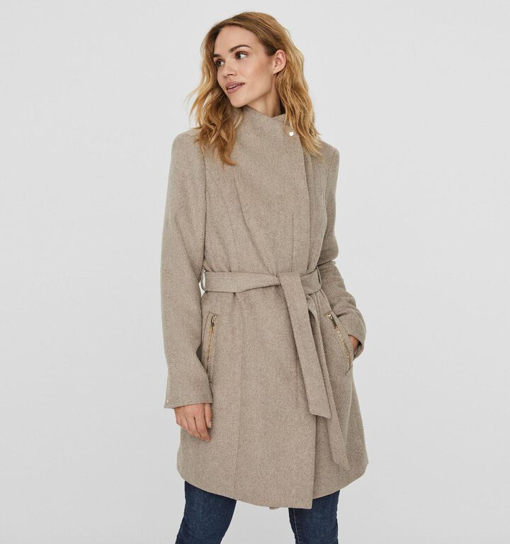Vero Moda Manteau en Beige