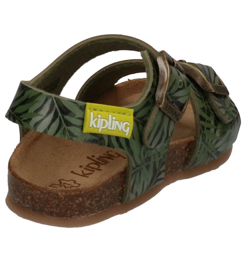 Kipling Kermit Kaki Sandalen in kunstleer (273240)