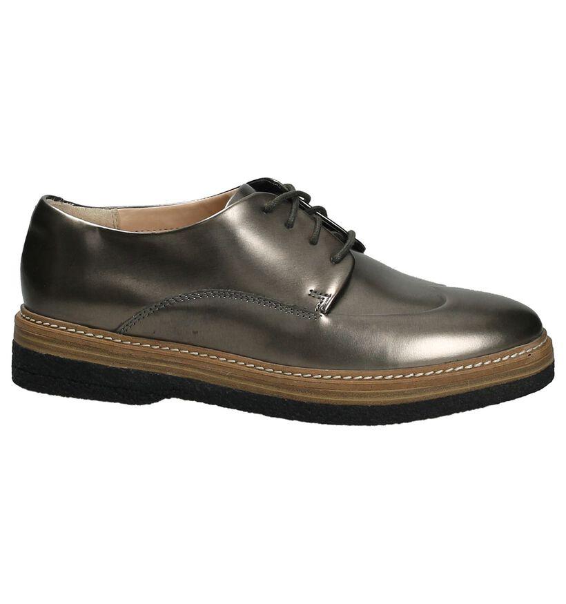 Clarks Chaussures à lacets en Bronze en cuir (201416)