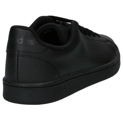 Zwarte Sneakers adidas Advantage Base in kunstleer (252492)