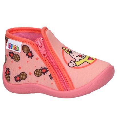 Roze Pantoffels Bumba in stof (260780)