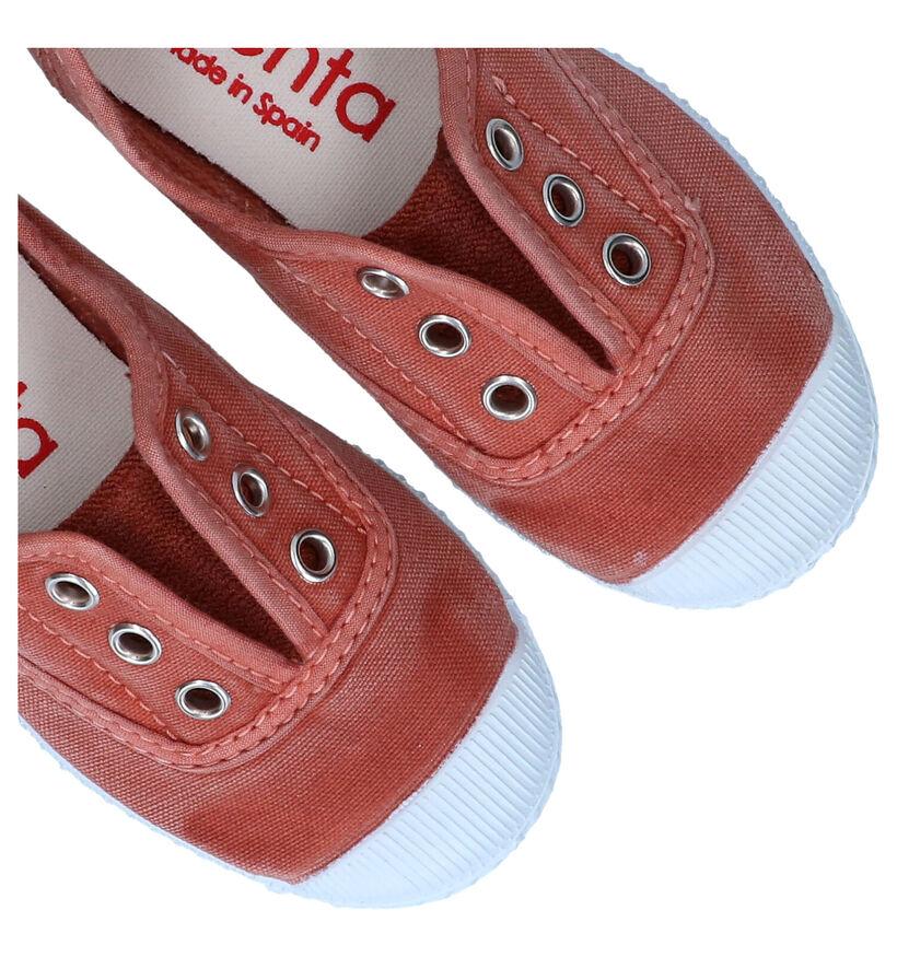 Cienta Groene Sneakers in stof (290094)
