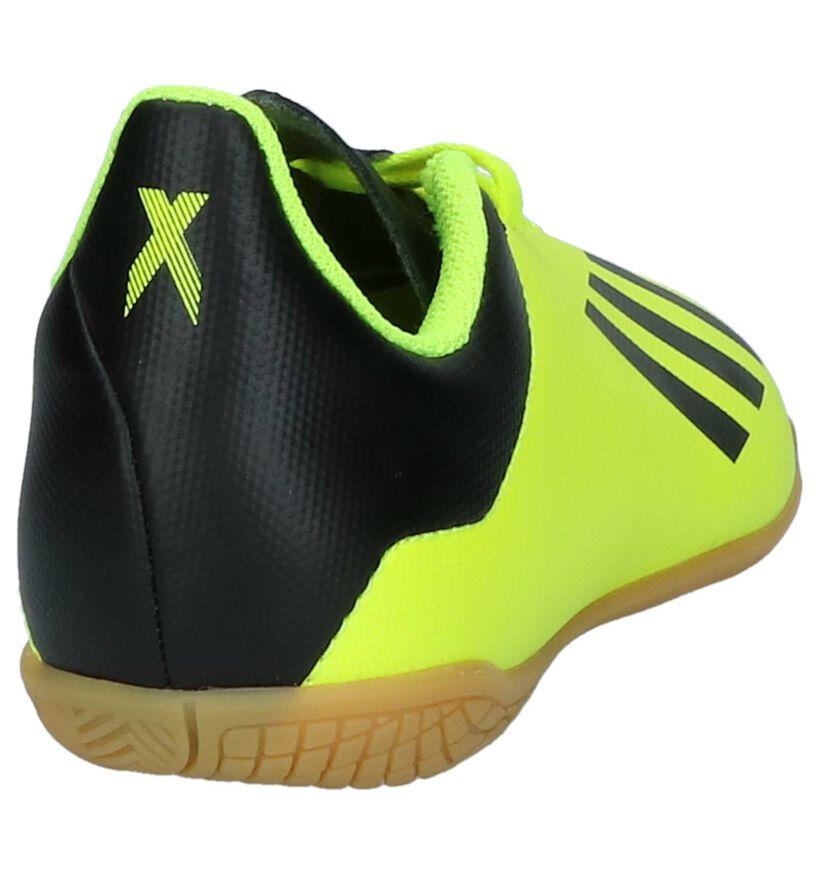 adidas X Tango Baskets en Fluo Jaune en simili cuir (221653)