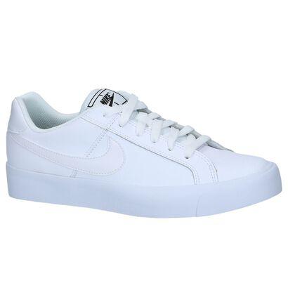 Ongebruikt Witte Lederen Sneakers Nike Court Royale | TORFS.BE | Gratis BI-14