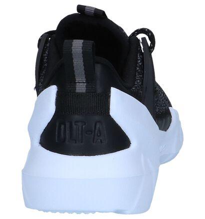 Zwarte Sneakers Skechers in stof (250720)