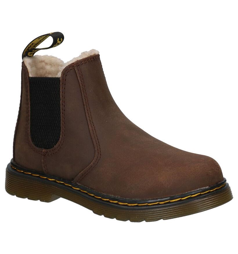 Dr. Martens 2976 Leonore Bruine Boots in leer (253348)
