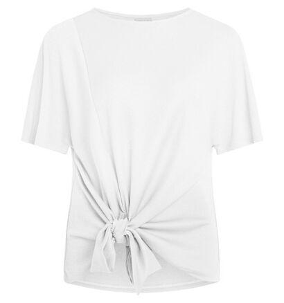 Vila T-shirt manches courtes en Blanc (278016)