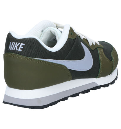 Nike MD Runner Baskets basses en Noir en textile (249825)