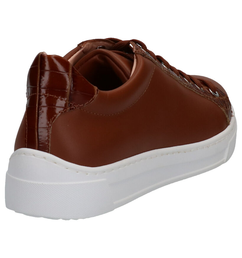 Unisa Franci Chaussures à lacets en Brun en cuir (274906)