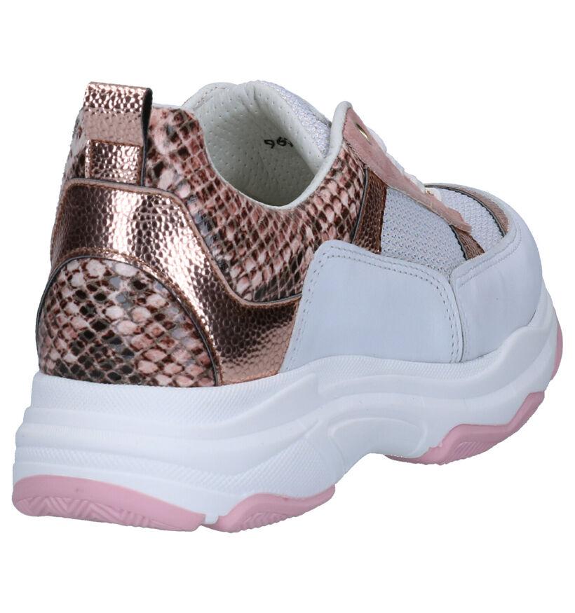Hampton Bays Baskets basses en Or rose en cuir (270781)