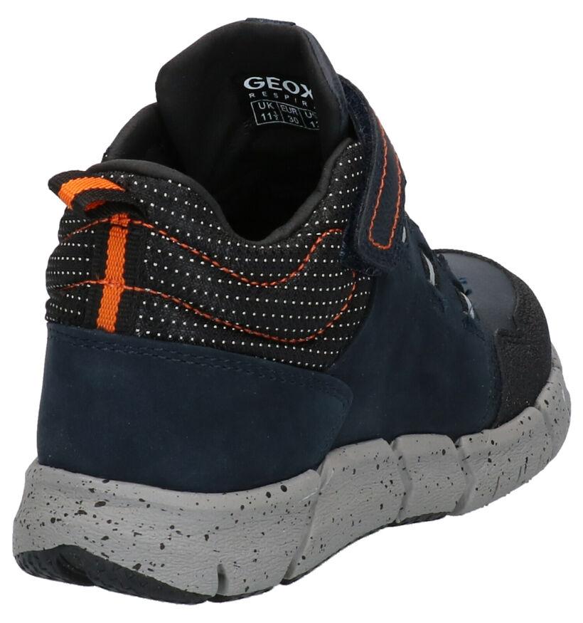 Geox Blauwe Boots in kunstleer (262405)