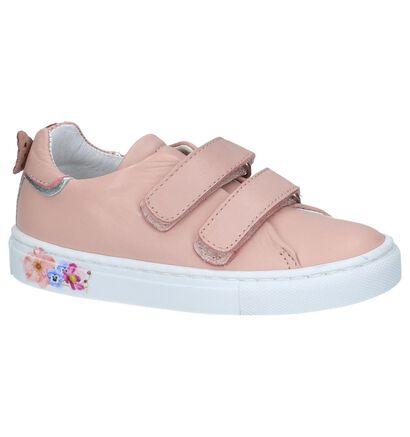 Nörvik Chaussures basses en Rose clair en cuir (246821)
