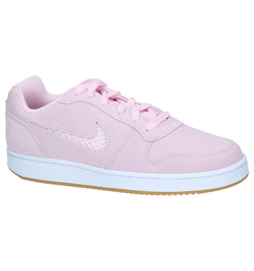 Kaki Sneakers Nike Ebernon Low in nubuck (238334)