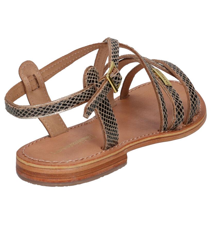 Les Tropeziennes Hapax Sandales en Noir en cuir (275037)