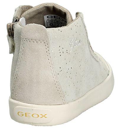 Geox Licht Beige Rits/Veter Boots, Beige, pdp