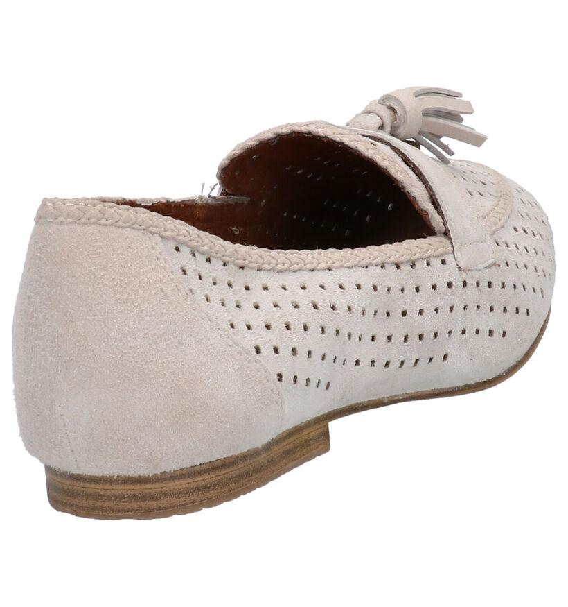 Tamaris Loafers en Gris clair en cuir (270197)